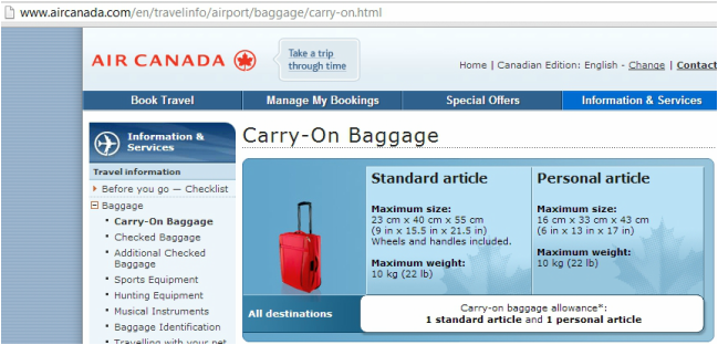 Ten Tips for Keeping Your CarryOn Baggage Safe. Carry