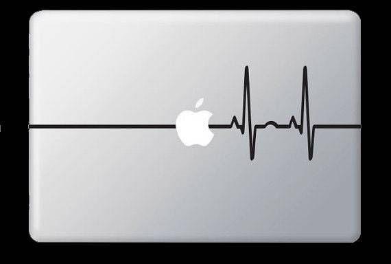 Apple vinyl decal sticker skin macbook air pro ipad mac funny dr nurse doctor in stickers decals ebay