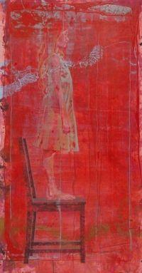 "Eugenio Cuttica: ""Luna on the Chair #1"""