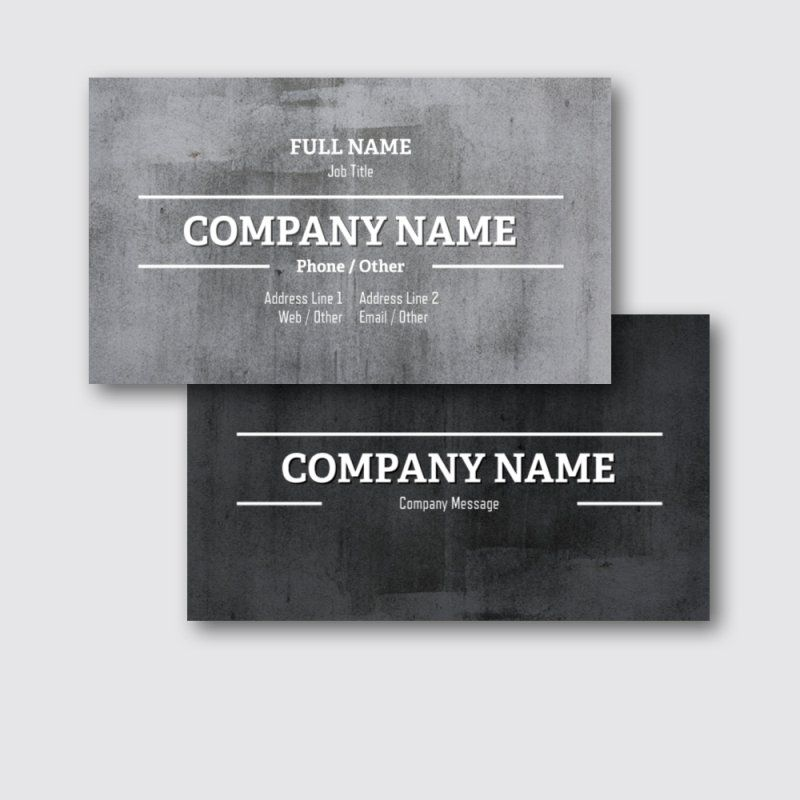 standard business cards templates designs page 3 vistaprint