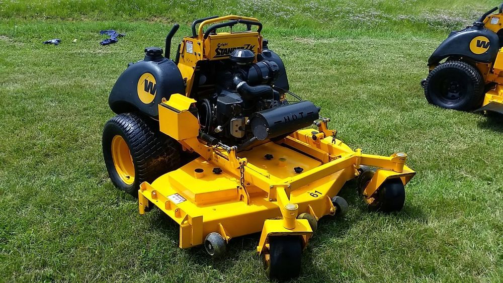 Wright 61 Zk Stander Commercial Zero Turn Hydro Ride On