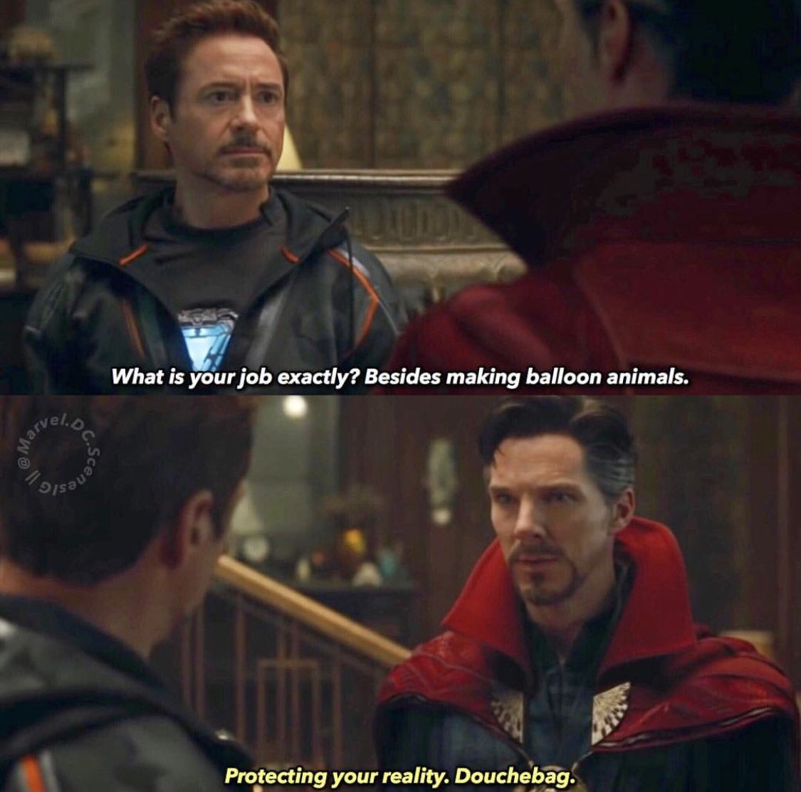 No Shit Sherlock Filme Doctor Strange Und Zitate