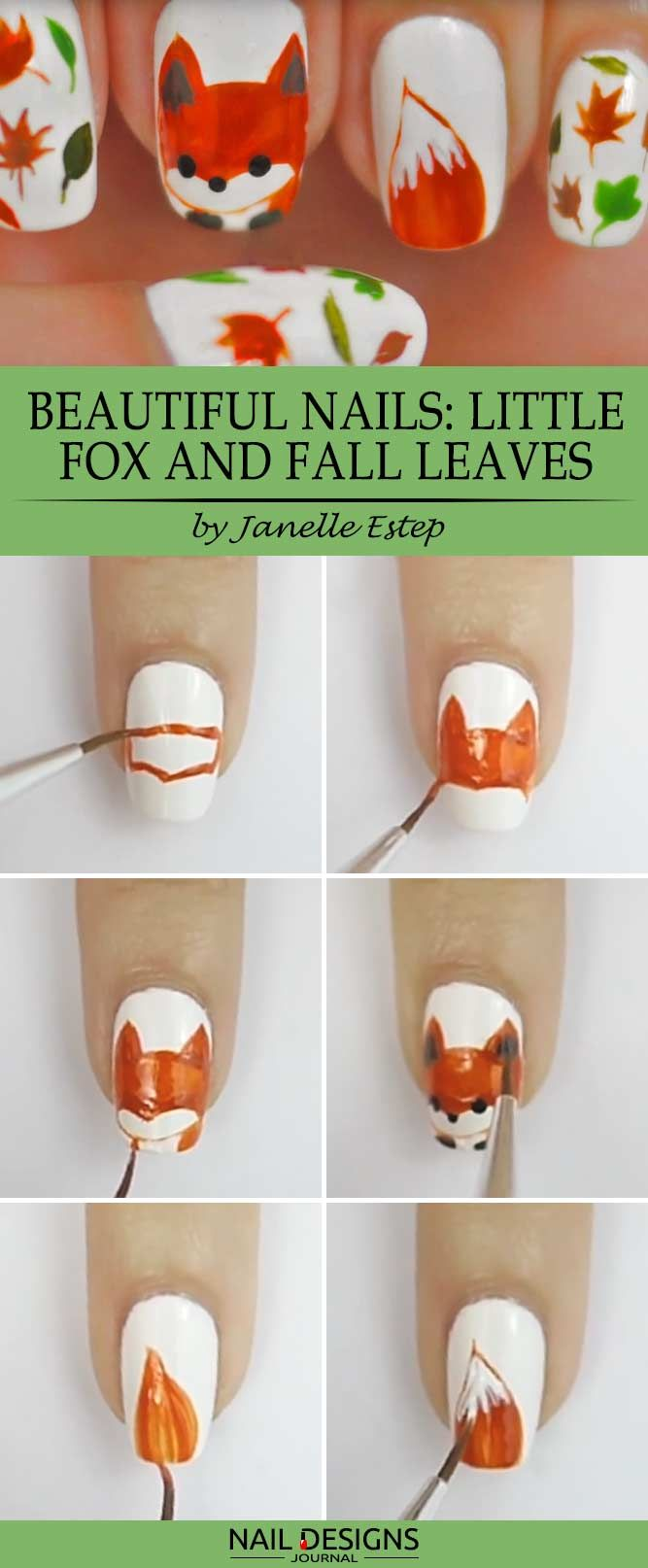 Foxy Nails: The Hottest Trend of This Fall | Diseños de uñas ...