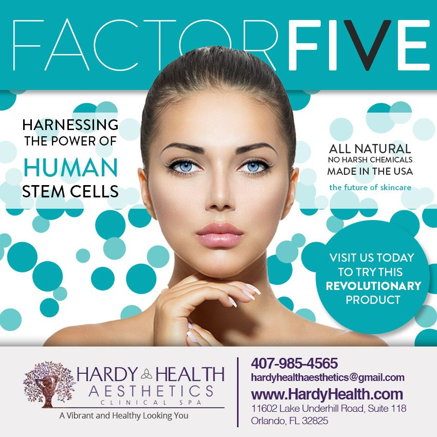 Factor Five Revolutionary Skincare Has Arrived Contact Us Now For Details Www Hardyhealth Com Body Treatments Skin Care Hair Beauty