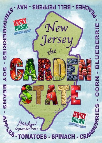 It S Called The Garden State For A Reason Artist Trading Cards Jersey New Jersey