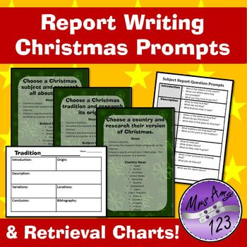 Report Writing Christmas Prompts Report Writing Writing Prompts