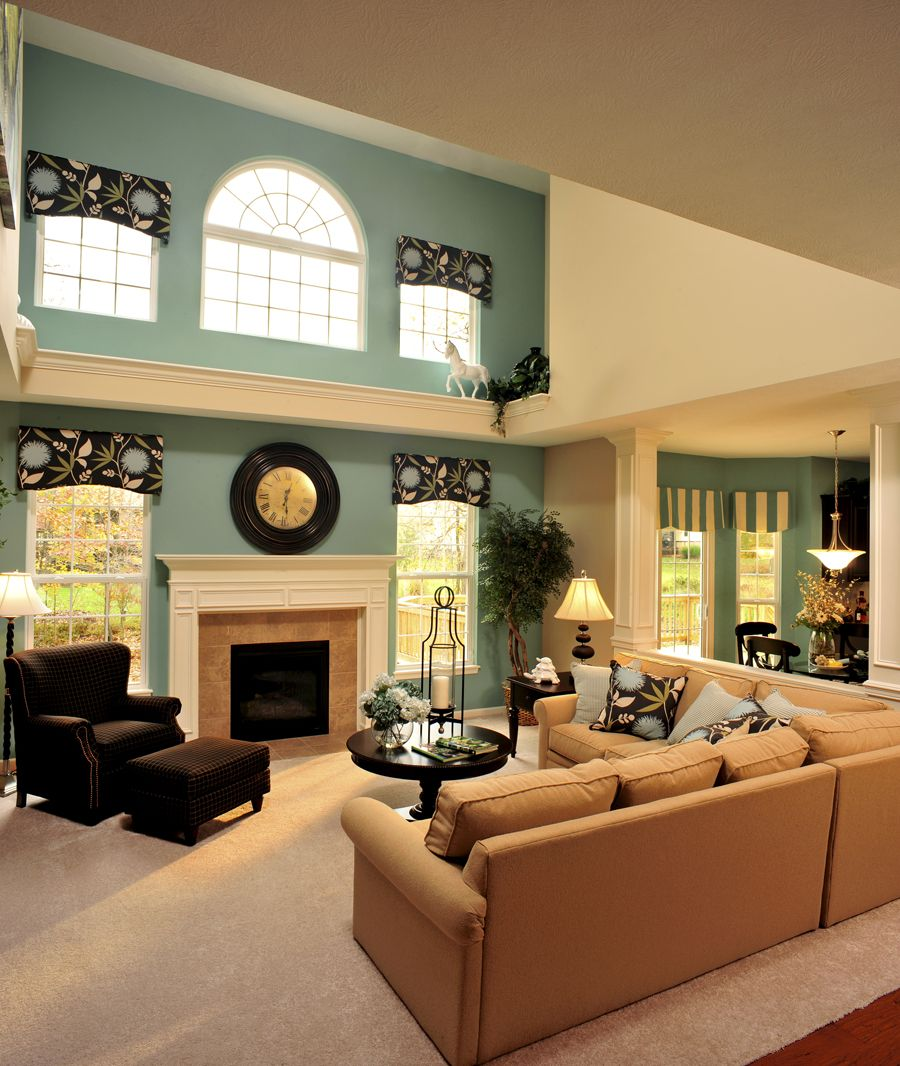 Living Room Sets Cleveland Ohio the ashville - cleveland, ohio | family rooms and living spaces