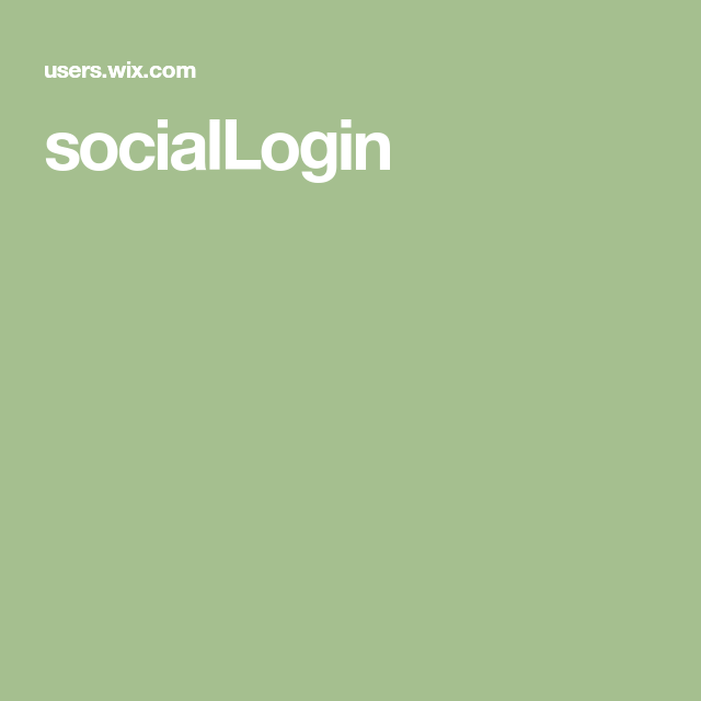 Photo of socialLogin