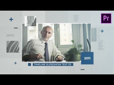 Timeline Slideshow After Effects Template The Best After Effects