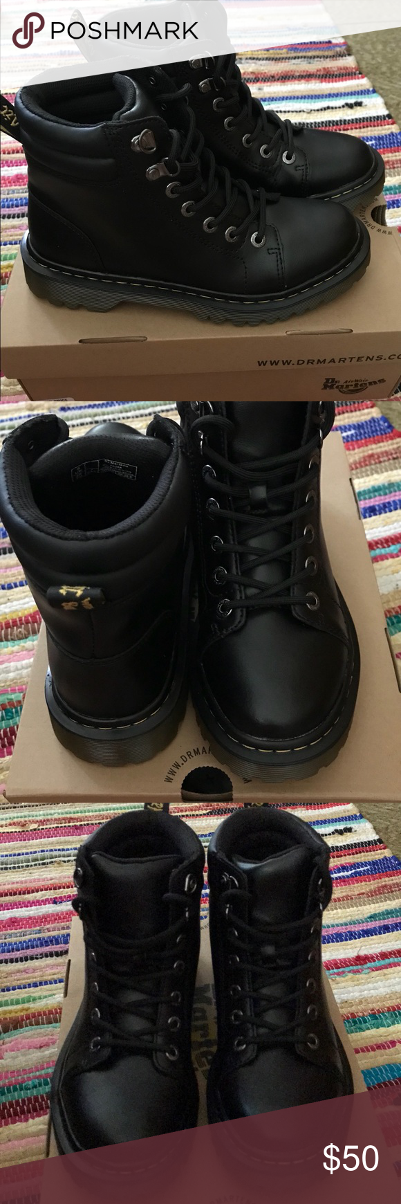c546a54f300d New Dr Martens Faora Boot Size 7 New never worn Dr Martens Faora Boot. Size  7 and have no marks or scratches. Dr. Martens Shoes Combat   Moto Boots