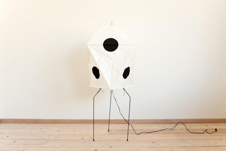 Mjölk : UF3-Q Akari floor lamp by Isamu Noguchi - Web UF3-Q   Lamps ...