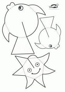 10 Güzel Okulöncesi Deniz Canlıları çalışması Etkinlik Crafts