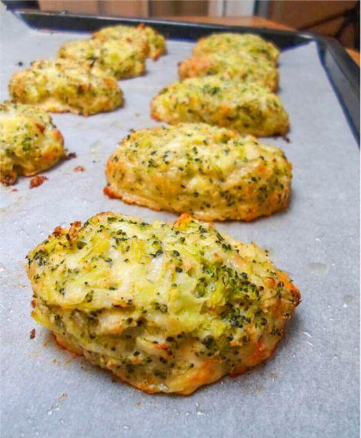 Leckere Brokkoli Käse Nuggets (Low Carb) #vegetarischerezepte