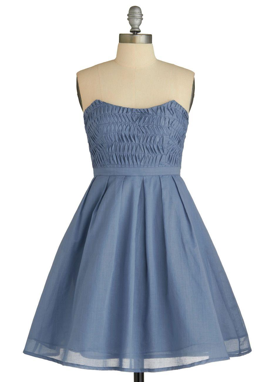 modcloth dress, perhaps a little short, short girl in