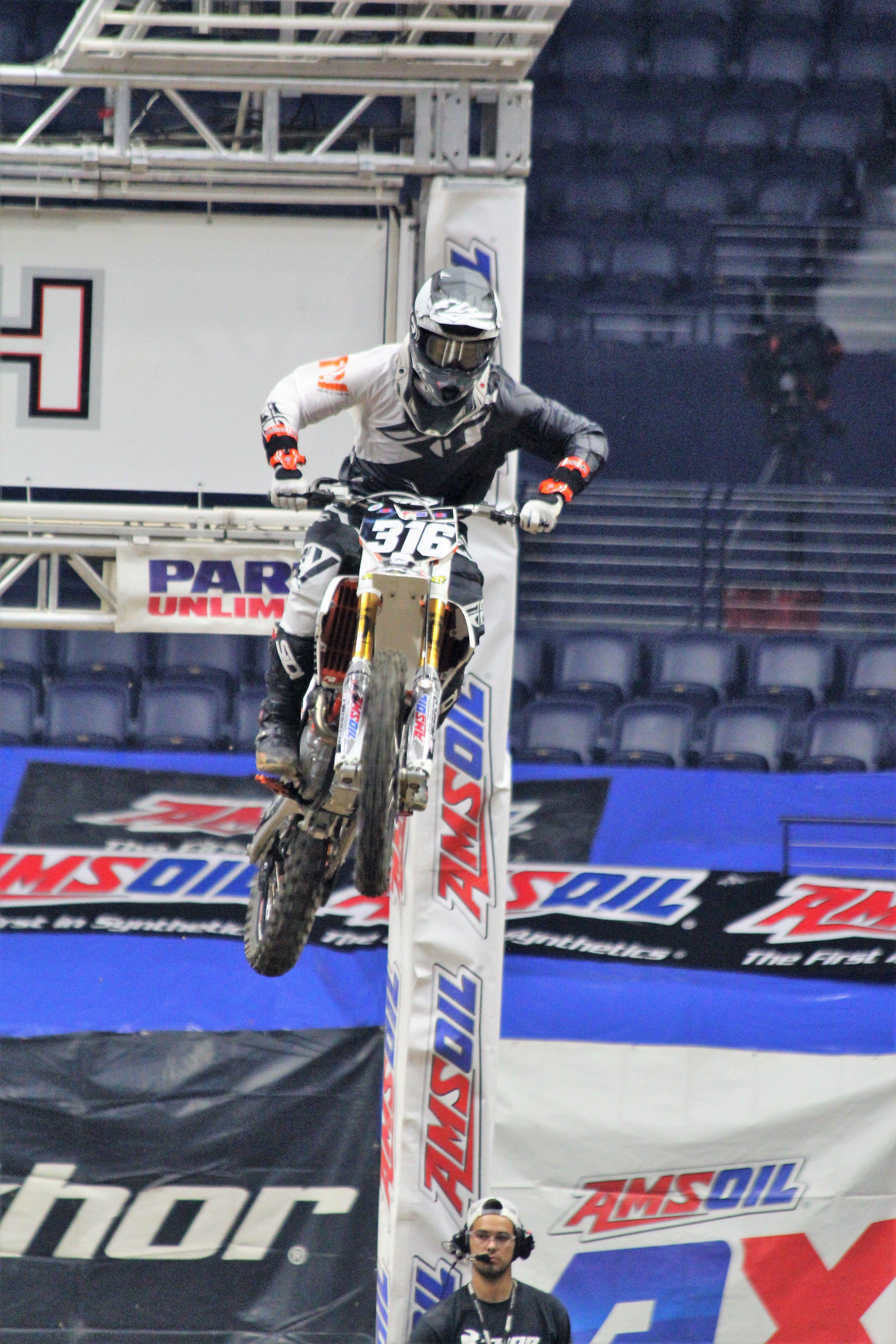 Dawson Newby AMS Oil Arenacross