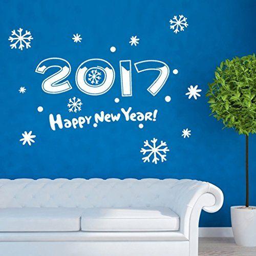 Happy New Year 2017 Wall Sticker Oksale 275 x 213 Inch ...