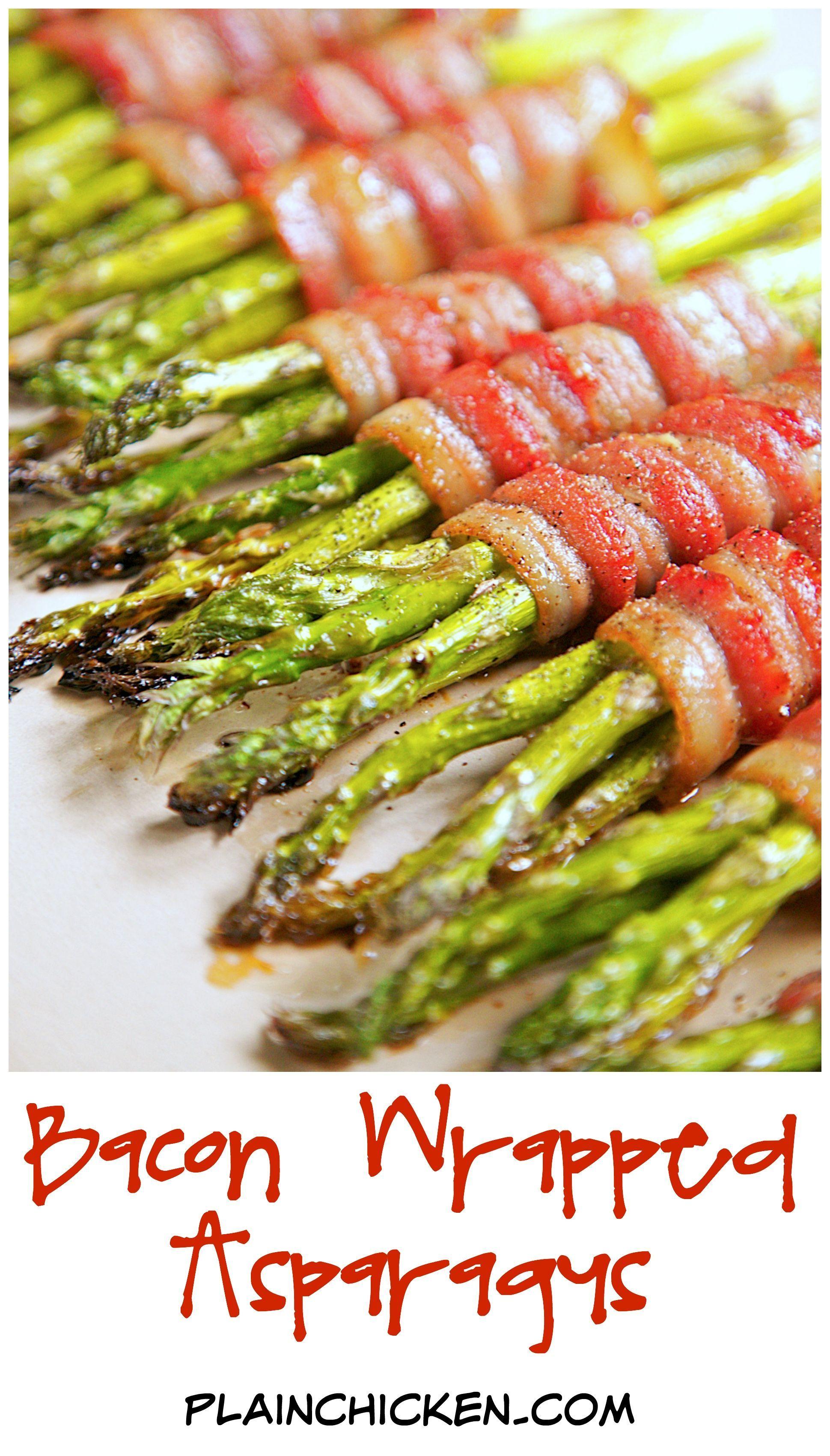 Bacon Wrapped Asparagus Recipe Fresh Asparagus Wrapped