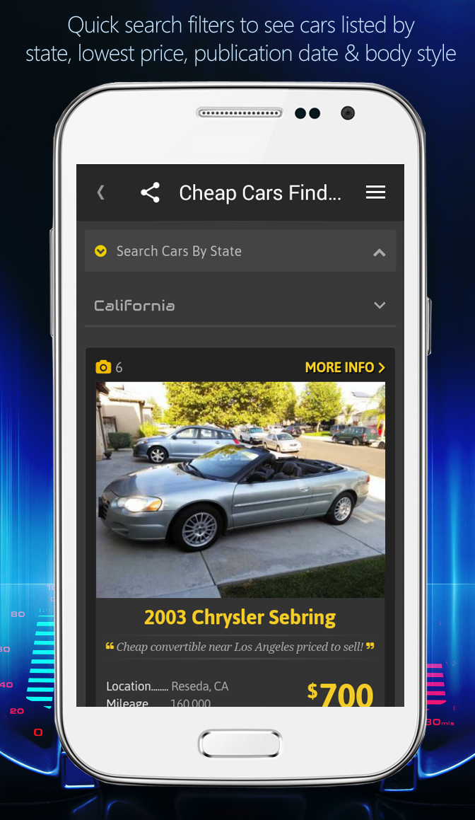 Find Cheap Cars For Sale In Usa Or Sell Yours Give A Try To Our Android App Cheap Cars Finder You Can Instal Cheap Cars For Sale Cheap Cars Cars For