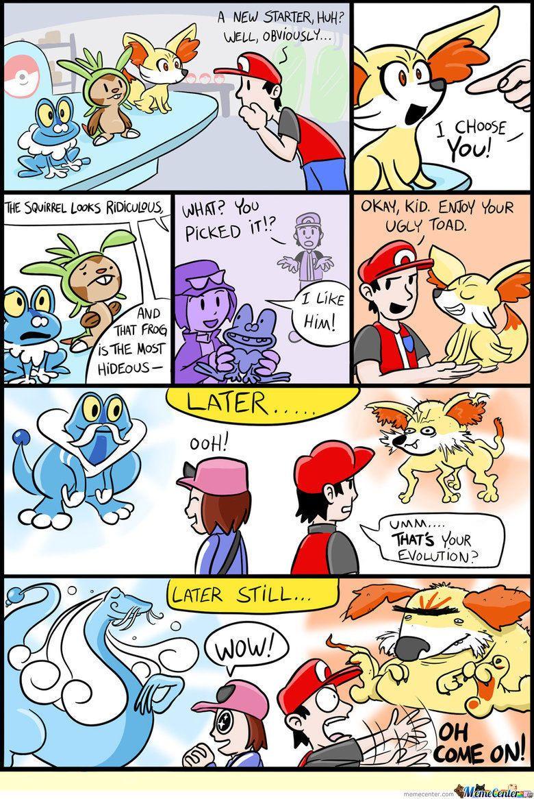 cba8a4c0e6dcce9af25ff23232bfa1b0 pokemon x and y pokémon, comic and pokemon stuff