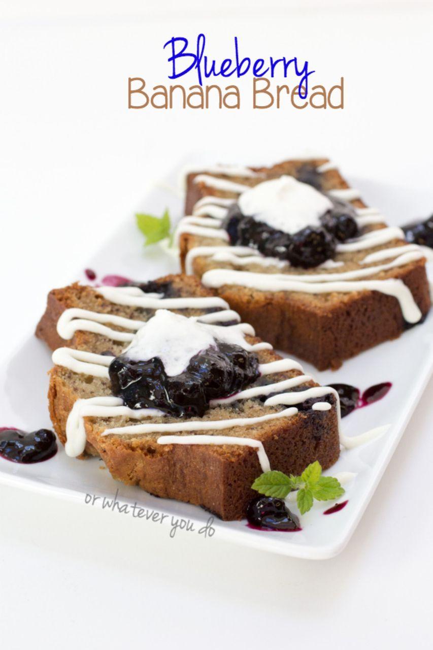 60 Reference Of Blueberry Banana Bread Recipe With Sour Cream In 2020 Sour Cream Recipes Blueberry Banana Bread Banana Blueberry