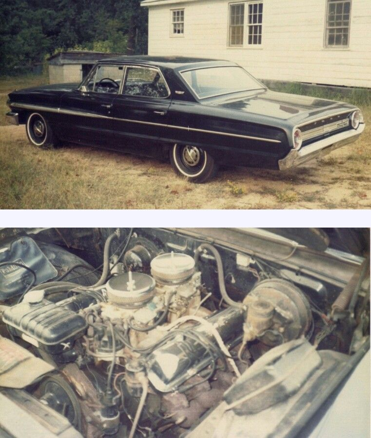 1964 Galaxie four door 427 R code 425 horsepower 4 Speed
