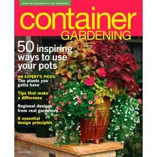 Great Pictures Of Container Garden Magazines   Google Search