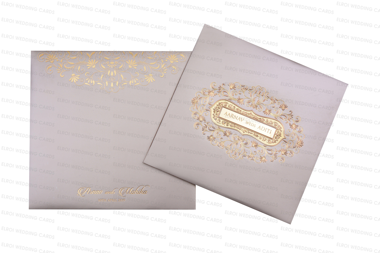 Padding Wedding Invitation Card Acrylic Name Plates