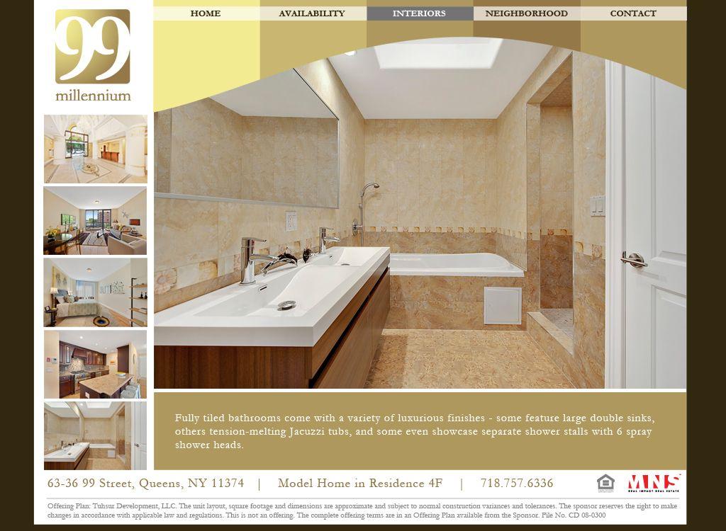 Millennium99 Website - Interiors