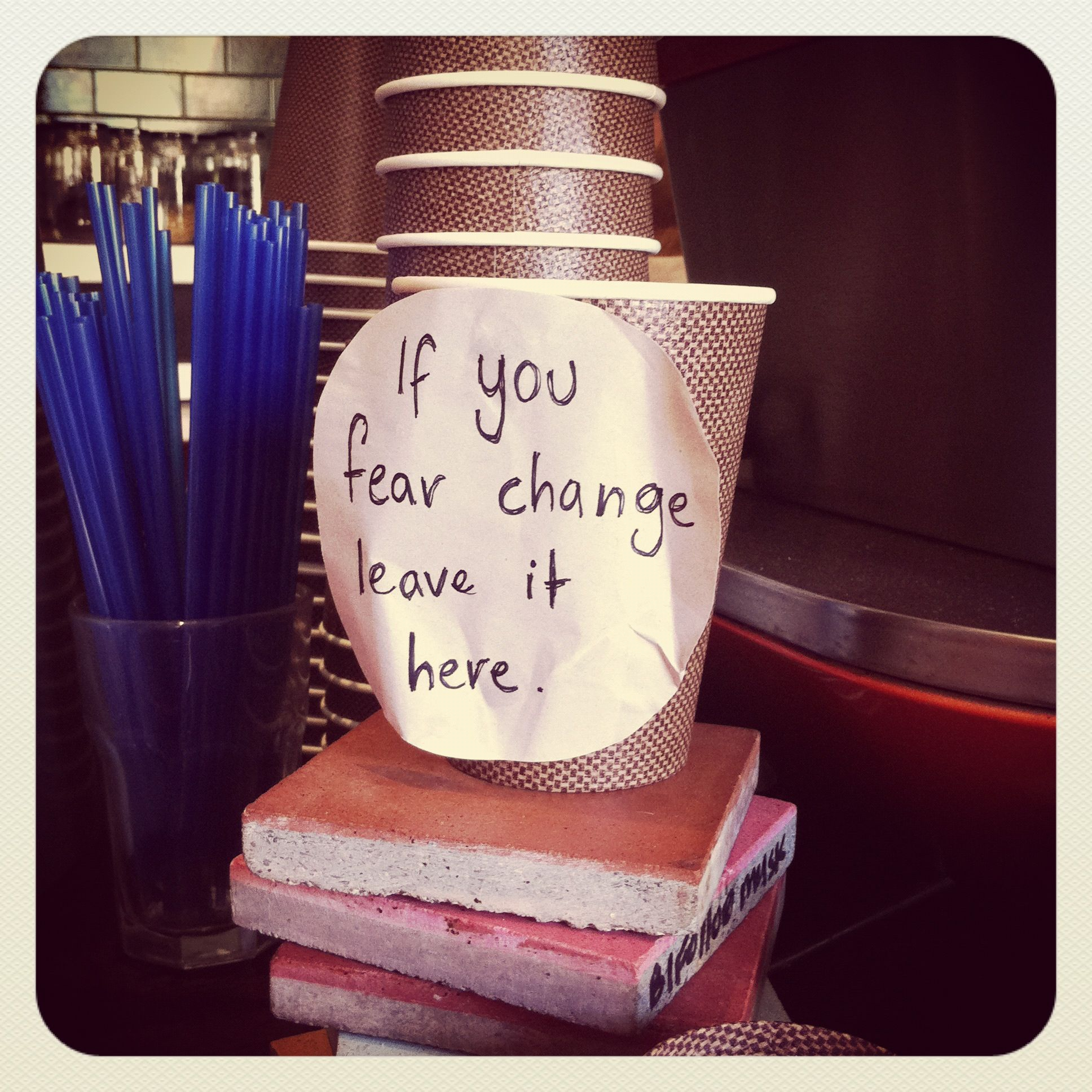 Best Quote On Cafe Tip Jar Coffee Cafe Font Cafe Quotes Tea Bar Coffee And Bagel