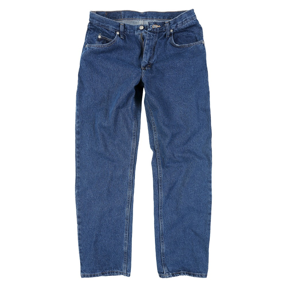 4d9ab624 Wrangler Big & Tall Men's Regular Fit Jeans Dark Denim Wash 50x30 ...