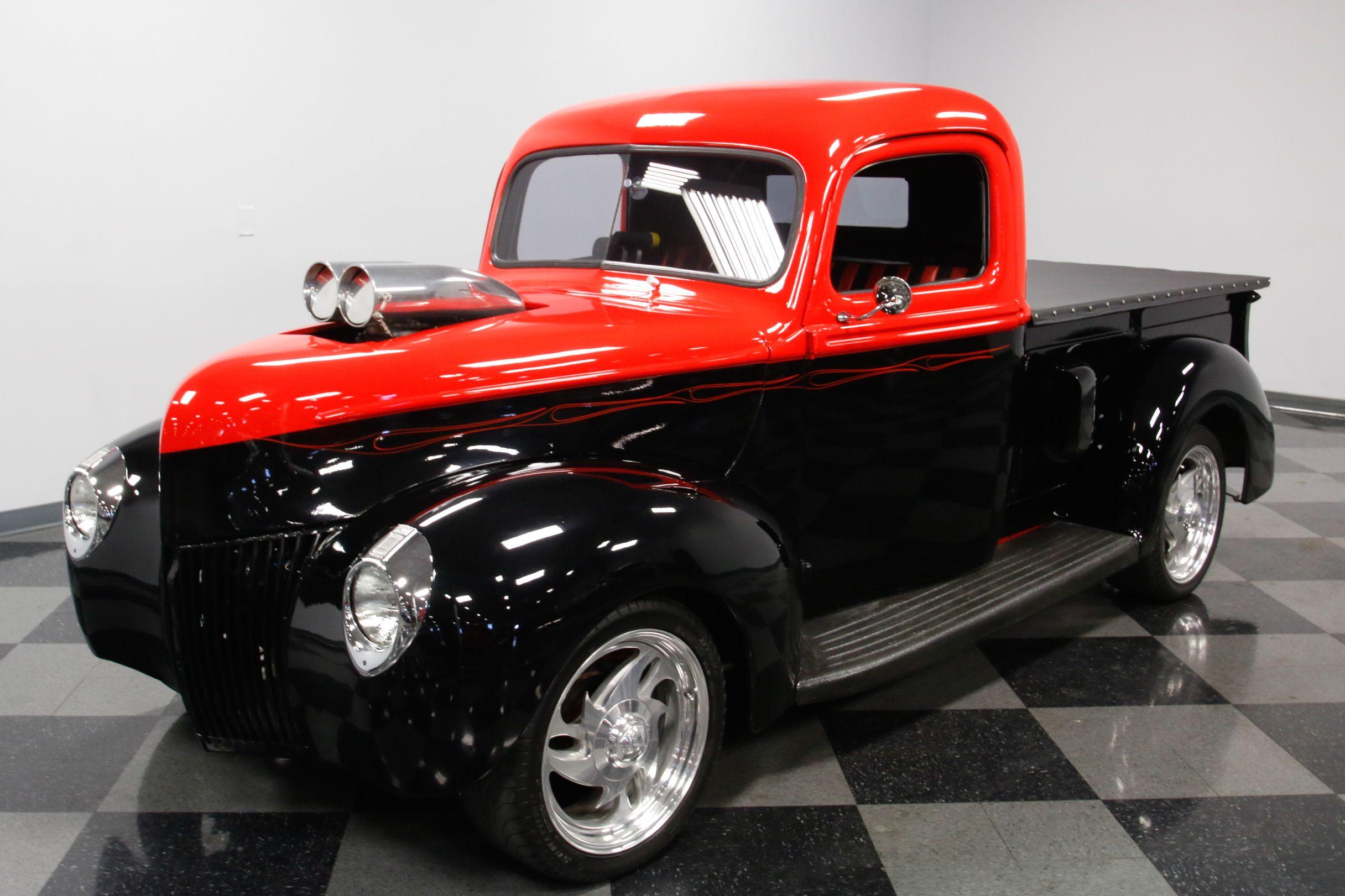 supercharged 1940 Ford Pickups custom   Custom trucks for sale ...