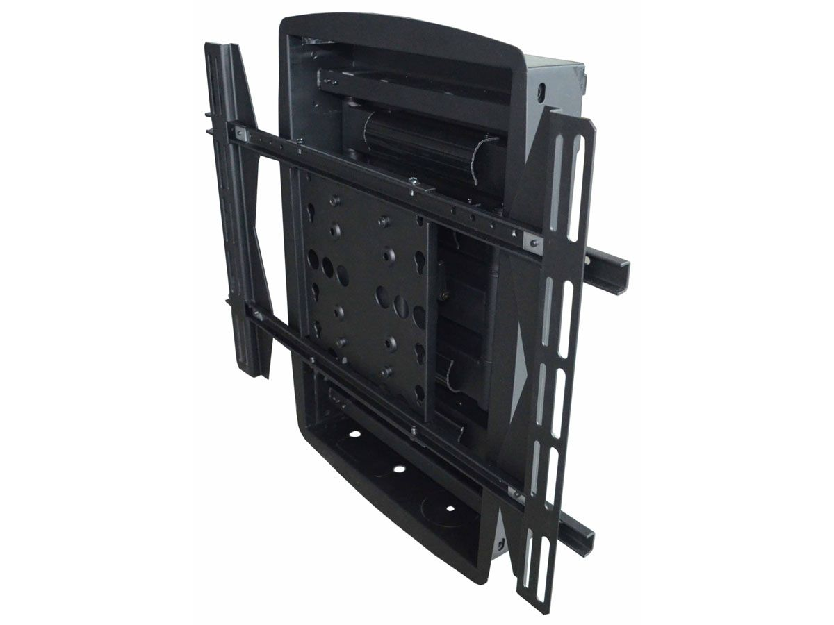 Recessed Full Motion Wall Mount Bracket Max 200 Lbs 42 63 Inch Monoprice Com Tv Wall Mount Bracket Wall Mount Bracket Tv Wall