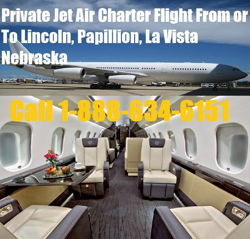 Private Jet Quote Private Jet Air Charter Flight Lincoln Papillion La Vista