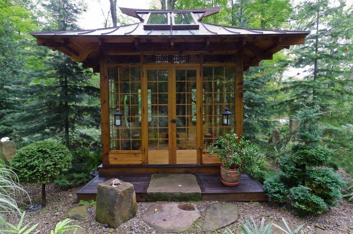 Japanese Tea House Miriam S River House Designs Tea House Design Japanese Style House Japanese Tea House
