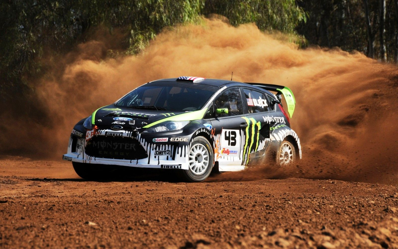 Rally Car Monster Hd Widescreen Wallpapers Car Ideas For The