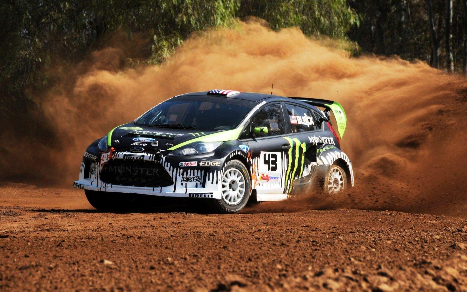 Rally Car Monster Hd Widescreen Wallpapers Car Rally Car Rally