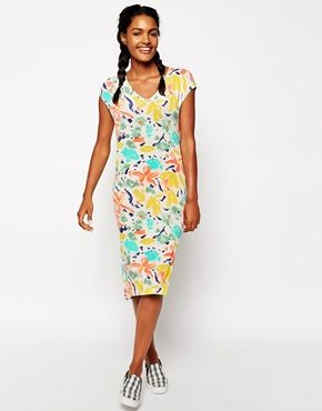 Paul by Paul Smith Jersey Floral Dress