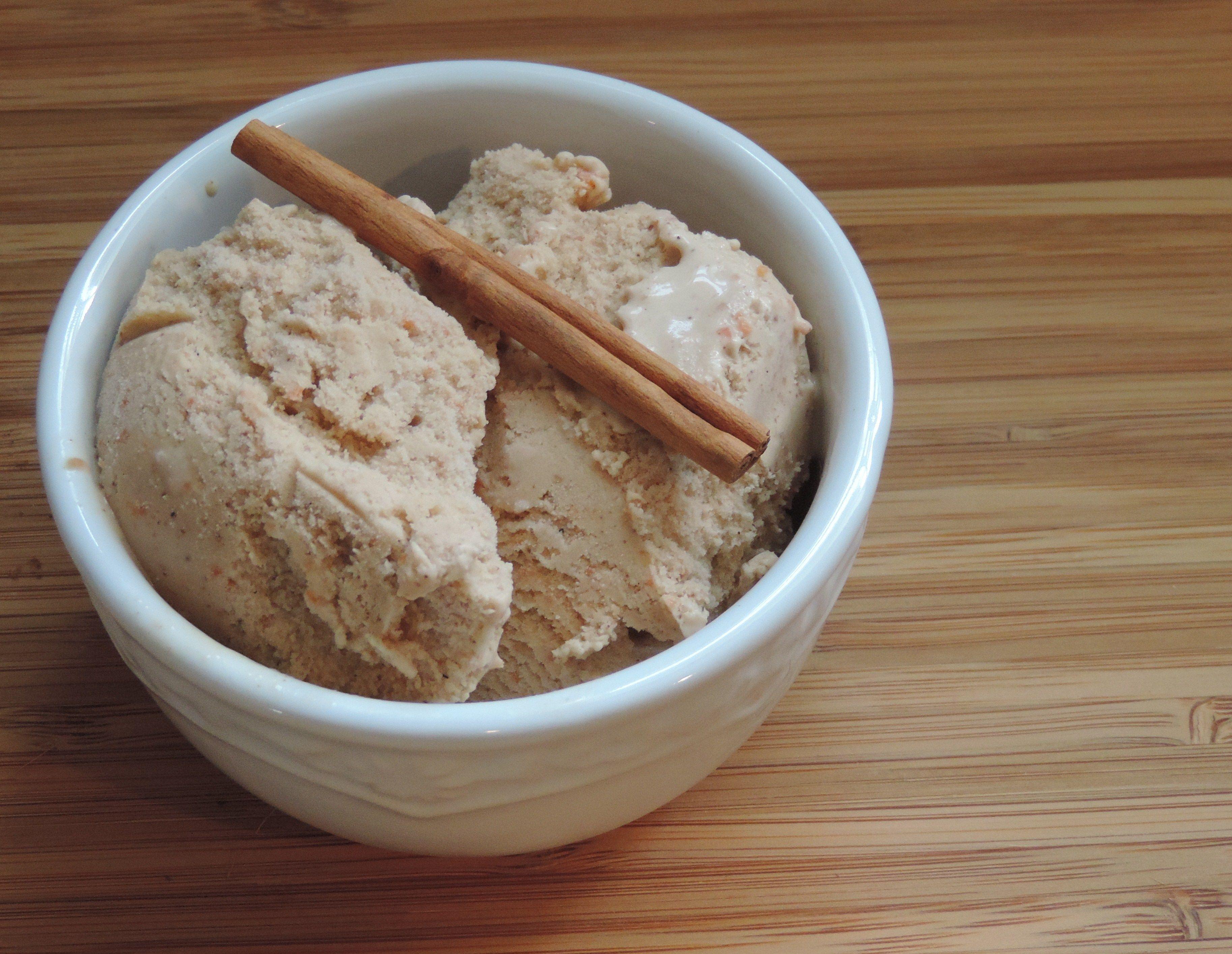carrot cake gelato