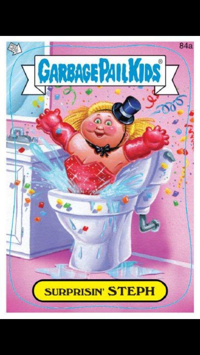 Garbage Pail Kids Surprisin Steph Garbage Pail Kids Garbage Pail Kids Cards Magazines For Kids