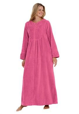 Long chenille robe by Only Necessities®  18cc3b60f