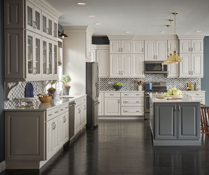 Camden Maple Dover and Fossil | Home depot kitchen ...