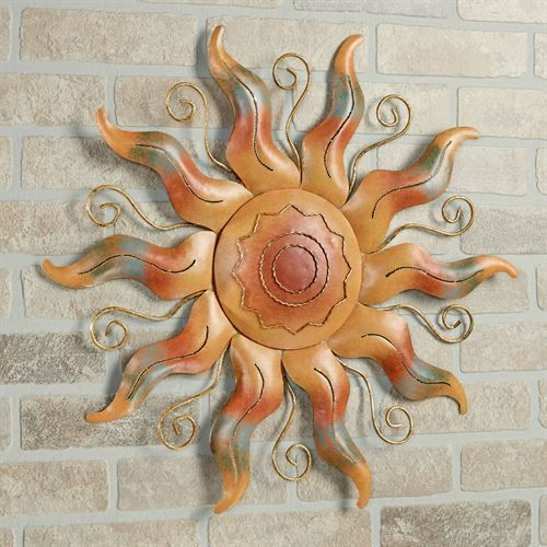 Fiesta Sun Indoor Outdoor Metal Wall Art | Decorating | Pinterest ...