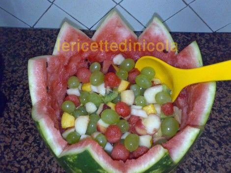 Come Presentare La Frutta.Ricetta Ricette Cucina Delle Feste Frutta Come Presentare La