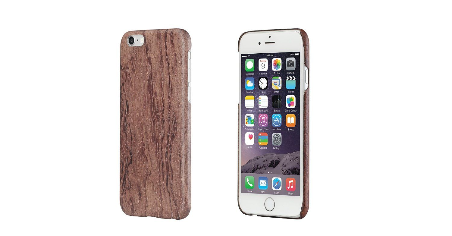 official photos 0872c 16056 Amazon.com: pitaka® Natural Rosewood Case Compatible For iPhone 6 ...