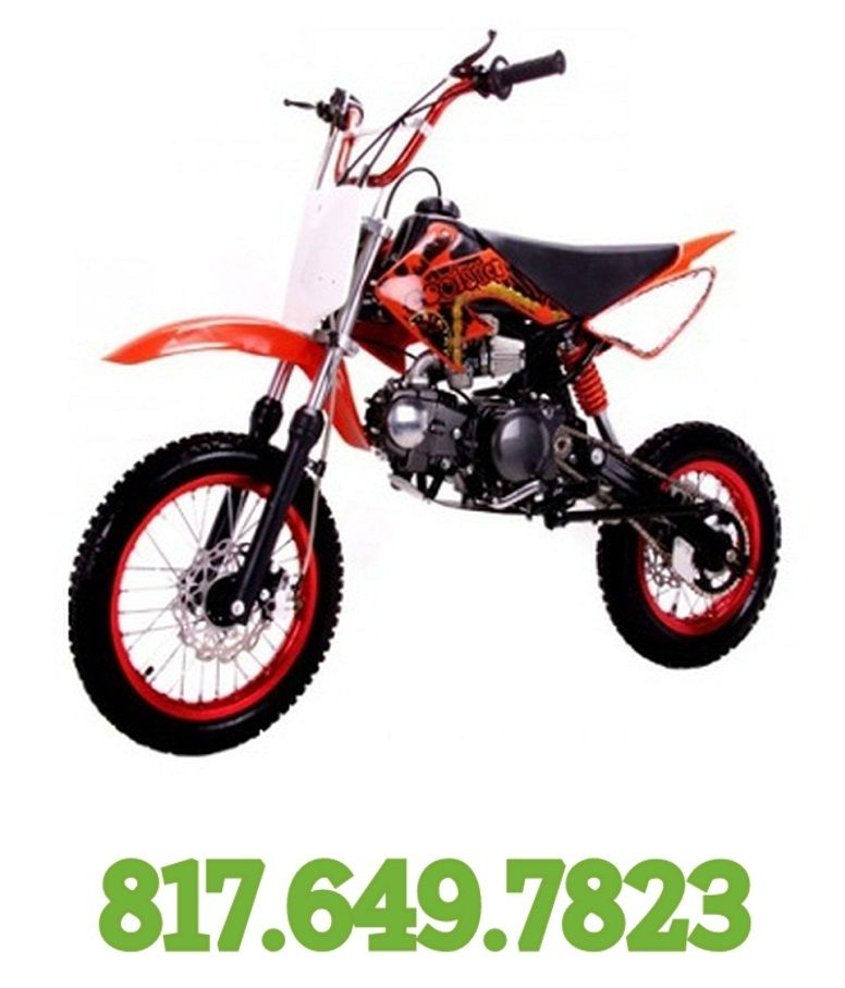 Coolster 125cc Manual Clutch Mid Size Dirt Bike QG214