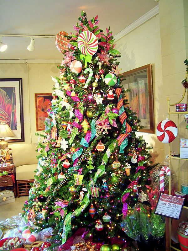 christmas trees ideas candy tree - Candyland Christmas Decorations