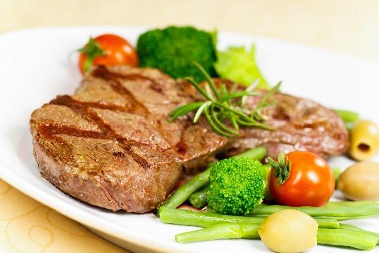 ستيك مشوي مع خضار سوتيه مطبخ سيدتي Recipe Steak Meat Food