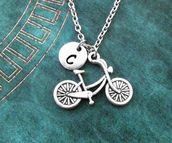 Biker Gift Bike Necklace Custom Bike Necklace Custom Bicycle Necklace Bicycle Necklace
