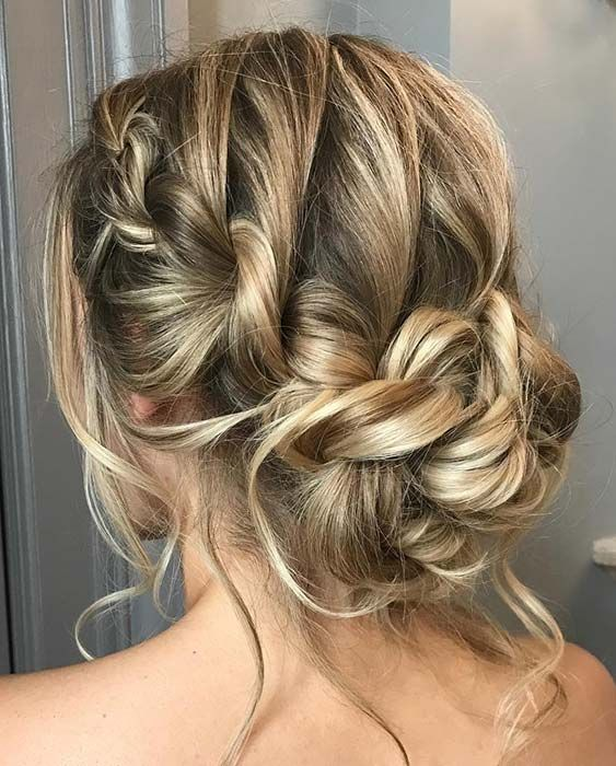23 Most Beautiful Updo Hairstyles For Formal Events Stayglam Boho Updo Hairstyles Medium Hair Styles Hair Styles