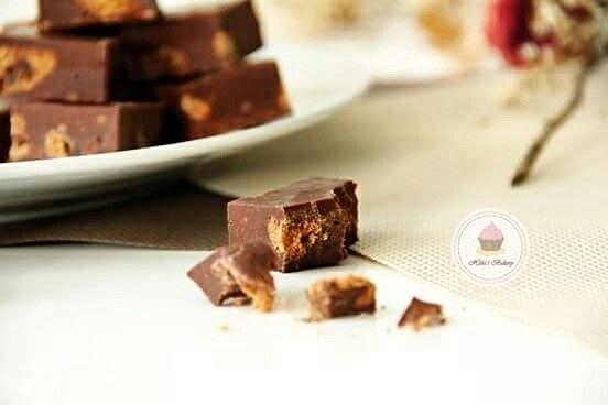 Triple Chocolate Cookies Fudge. Das Rezept gibt's bei mir auf Instagram hibas_bakery